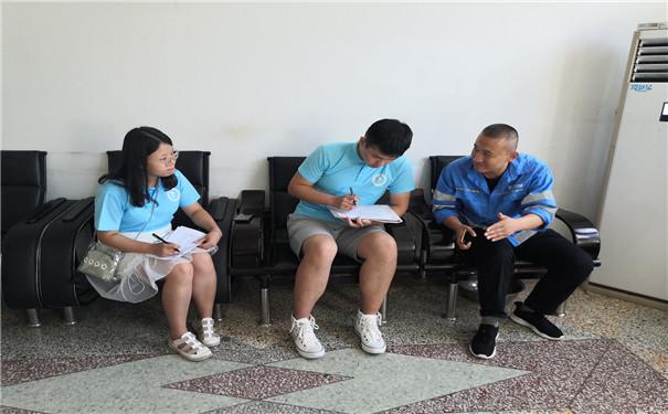 安财学子三下乡:走进雄县项目部,学习智能化环保模式2