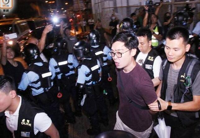陈浩天被捕