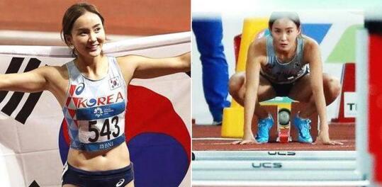 NO2、韩国田径女运动员郑惠林